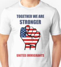 Together we are stronger t shirt Slim Fit T-Shirt