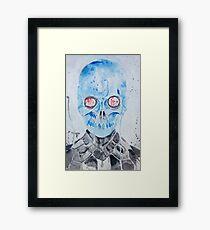 Mr. Freeze  Framed Print