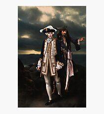 Norrington and Sparrow Photographic Print
