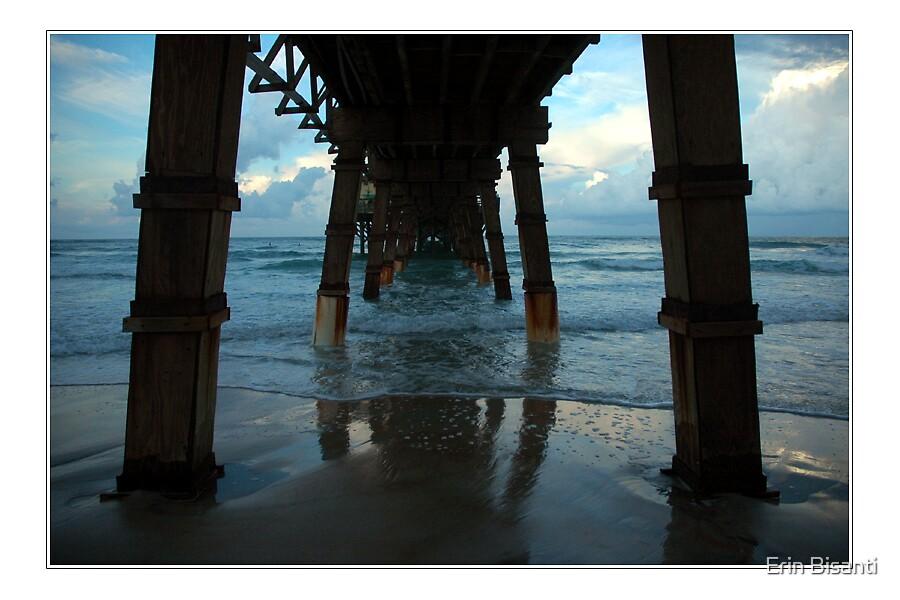 Daytona Beach , Fl Under the Pier by Erin Bisanti
