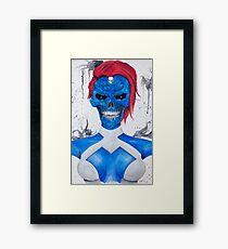 Mystique Skull Framed Print