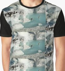 Adelie Procession #2 Graphic T-Shirt