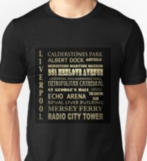 Liverpool Famous Landmarks T-Shirt
