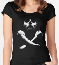 black sails Women's Fitted Scoop T-Shirt