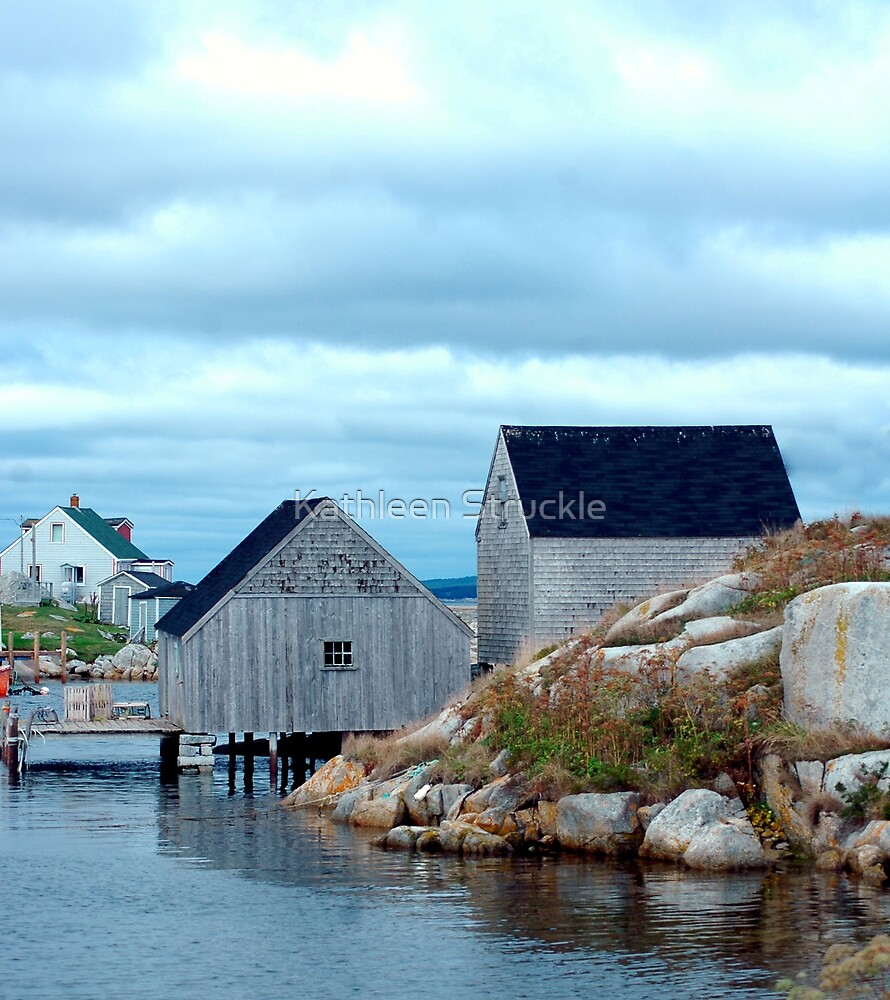Boathouses by Kathleen Struckle