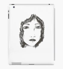 Ink woman iPad Case/Skin