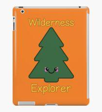 Wilderness Explorer Pine Tree iPad Case/Skin