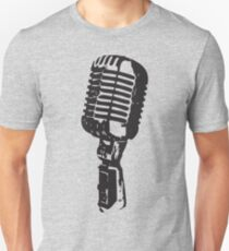 Microphone Unisex T-Shirt