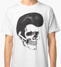 Rockabilly Skull Classic T-Shirt