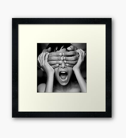 Who is it Framed Print
