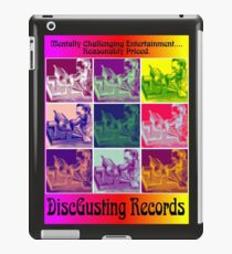 Disgusting Records iPad Case/Skin