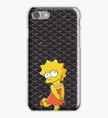 Killa Bart Goyard Black iPhone Case/Skin
