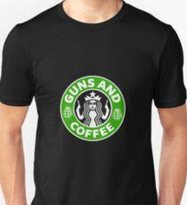 Guns & Coffee Unisex T-Shirt