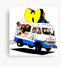 WUTANG ICE CREAM TRUCK Canvas Print