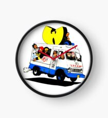 WUTANG ICE CREAM TRUCK Clock