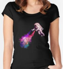 Shooting Stars Women's Fitted Scoop T-Shirt