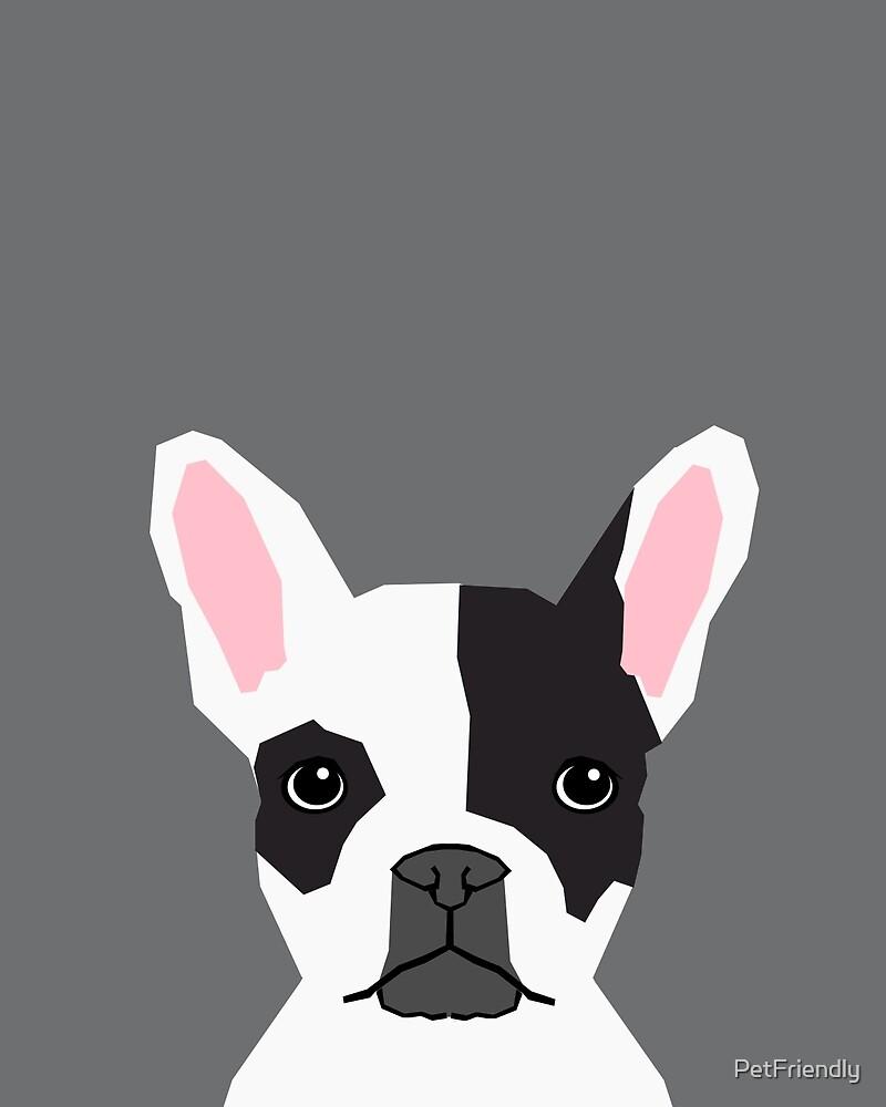 Parker French Bulldog Animal Art Modern Colors For Dog