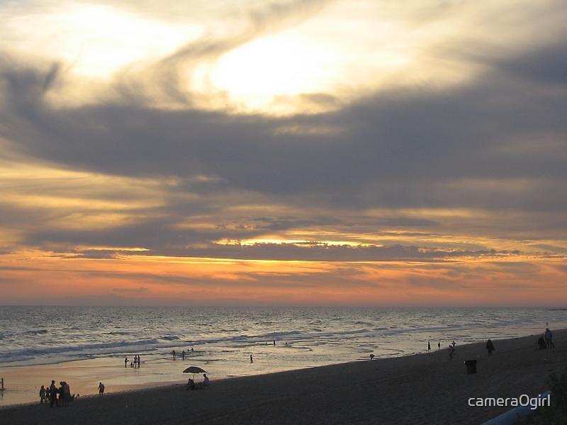 light on a beach by camera0girl