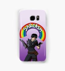 """""""Helping people and killing people are what I'm best at."""" Samsung Galaxy Case/Skin"""