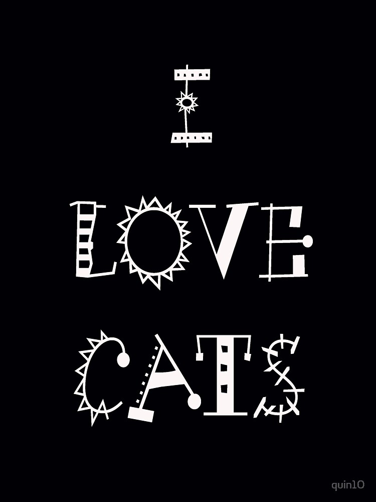 I Love Cats by quin10