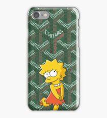 Goyard Green Killa Bart Phone case iPhone Case/Skin