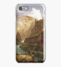 The Fountain of Vaucluse by Thomas Cole iPhone Case/Skin