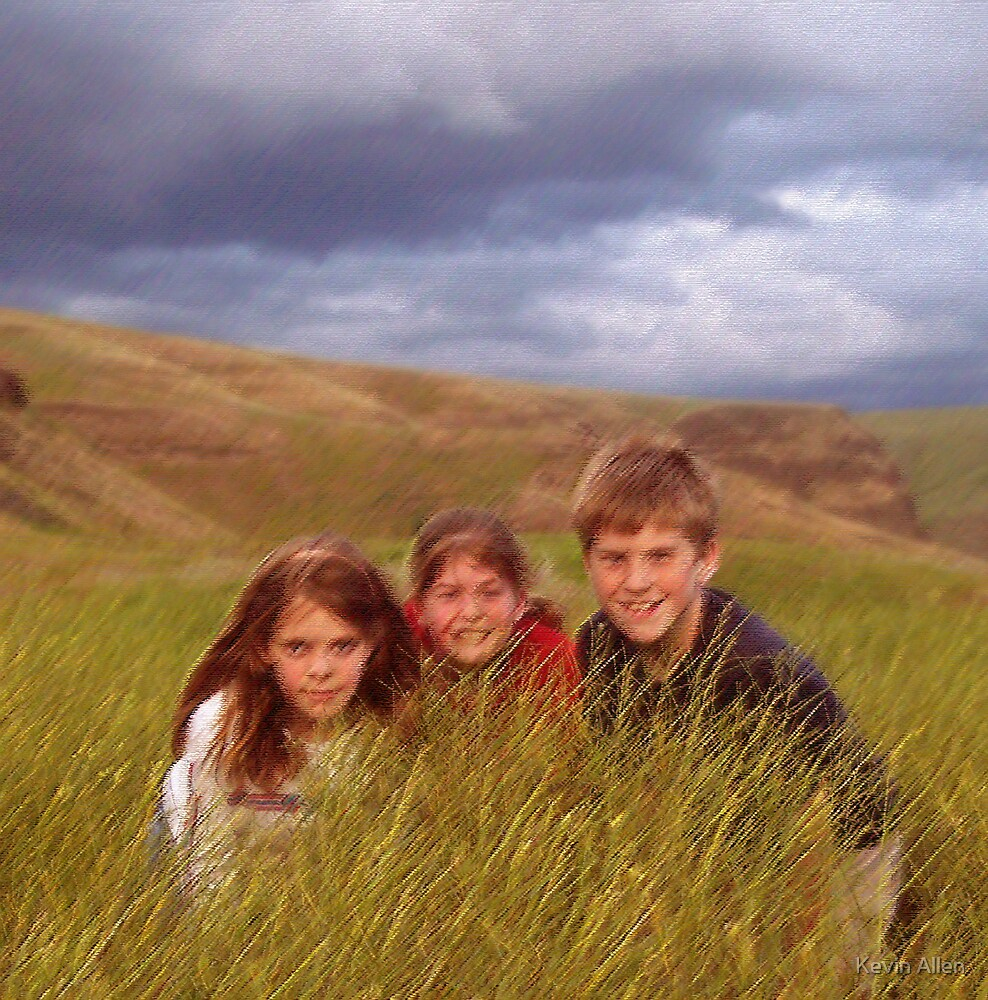 Three In The Weeds by Kevin Allen