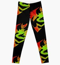 The Fire And Fury Leggings