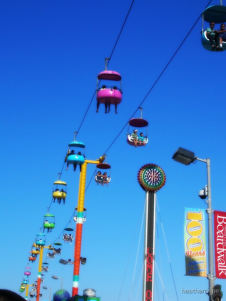 Santa Cruz Boardwalk by heatherrinne