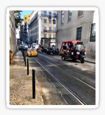 Bustling Portugal  Sticker