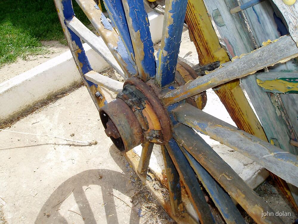 cart wheel by john dolan