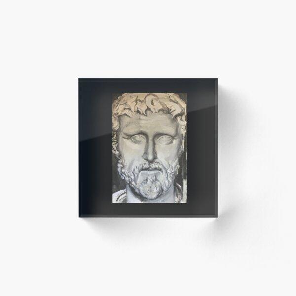 Roman Emperor Acrylic Block