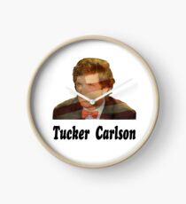 Tucker Carlson #17 Clock