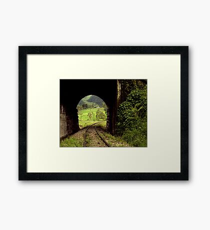 Colombian Tunnel  Framed Print