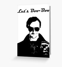 Let's Boo-Boo Greeting Card