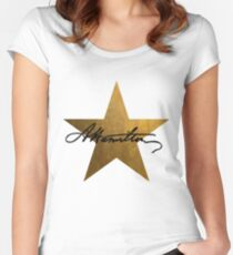 Hamilton Star  Women's Fitted Scoop T-Shirt