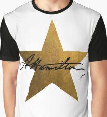 Hamilton Stern Grafik T-Shirt