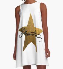 Hamilton Stern A-Linien Kleid
