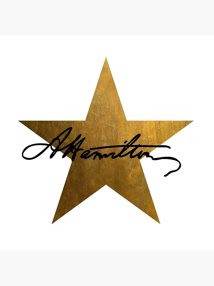 Hamilton Star  by justonedesign