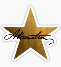 Hamilton Stern Sticker