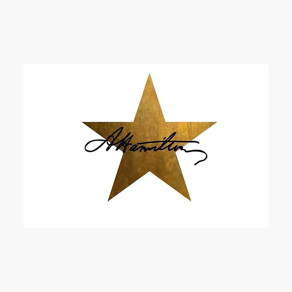 Hamilton Star Lámina fotográfica