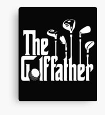 The Golf Father Golfers Fathers Day Gift for Dad Canvas Print