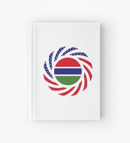 Gambian American Multinational Patriot Flag Series Hardcover Journal
