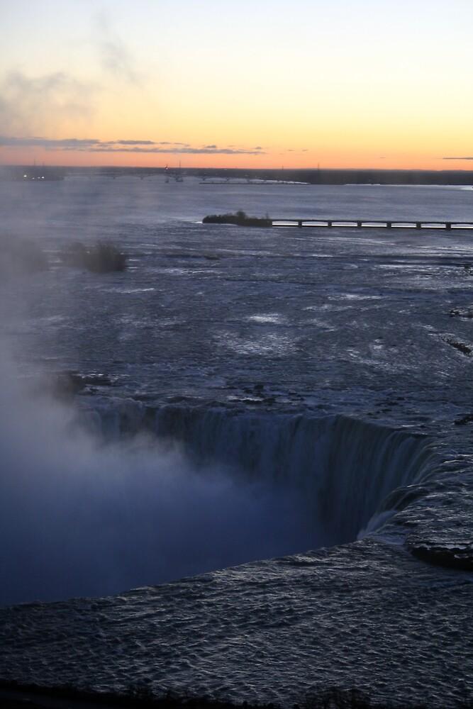 Niagara Falls at Sunrise by Hayley Evans