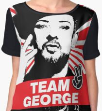 Team Boy George Chiffon Top