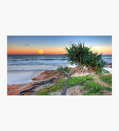 Super Moonrise at Coolum Photographic Print
