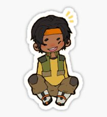 Happy chibi Hunk Sticker