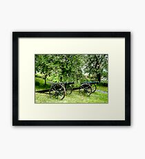 A Canon in Green by Canon Framed Print