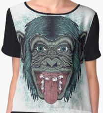 Monkey mono Women's Chiffon Top