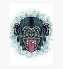 Monkey mono Photographic Print